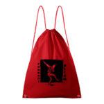 červený batoh