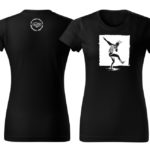 PD tričká dámske čierne dancer