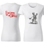 PD tričká dámske biele