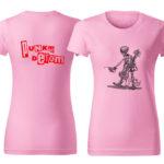 PD tričká dámske ružové