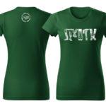 PD tričká dámske zelené 01 boty