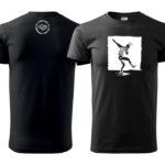 PD tričká pánske čierne dancer